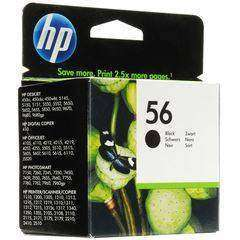 HP 56 Black Ink Cartridge (C6656AE)